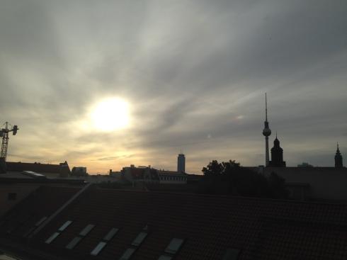 Berlin um 7 Uhr morgens